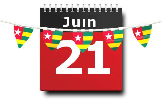 Togo, 21 juin : Chômé ou pas chômé?