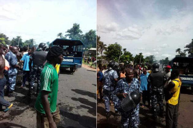 Togo, Conflits fonciers communautaires dans le Doufelgou : Les populations de Baga et de Defalé s'affrontent. Au moins un mort et un blessé.