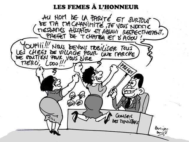 Des « préfettes » aux commandes au Togo