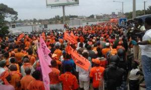 Togo, ANC : Grande mobilisation nationale pour en finir avec le régime RPT/UNIR !