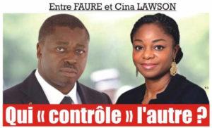 Togo : Entre Faure Gnassingbé et Cina Lawson, Qui «contrôle» l'autre ?