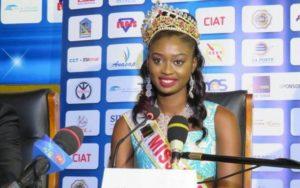Cornelia Dédévi Adomayakpo sacrée 23ème reine de la beauté Togolaise