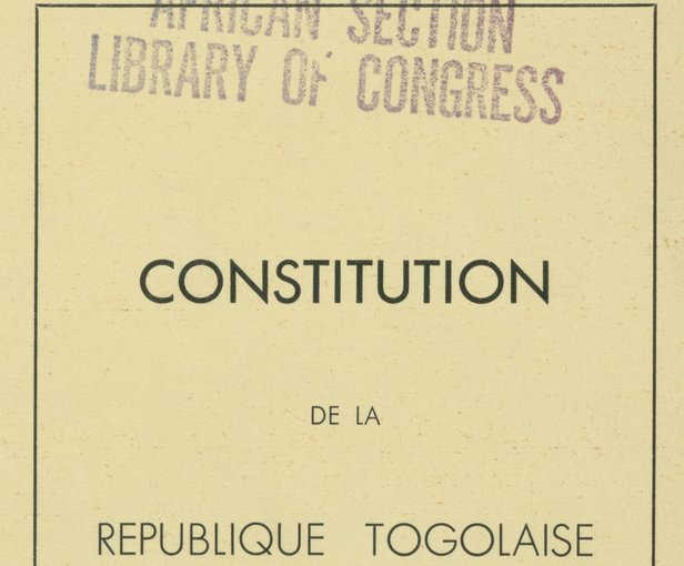 Le Togo, 25 ans après la Constitution de 1992