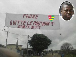 Togo : Faure Gnassingbé doit partir !