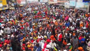 Mobilisation au Togo : La situation en ce moment…