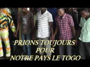 Des centaines de Chrétiens ont intercédé en faveur du Togo