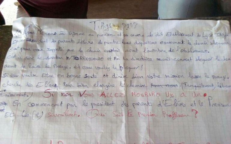 Togo / Sotouboua : Panique au Lycée Tittigbé, les sorciers y font la loi !