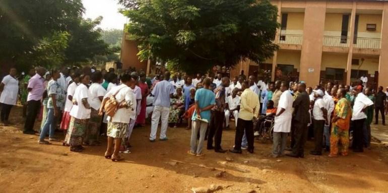 Togo/Mouvement de débrayage du personnel au CHR de Dapaong
