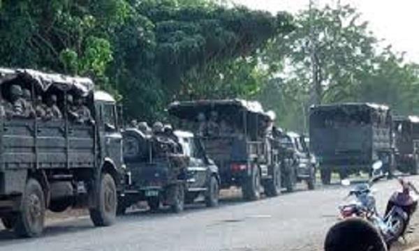 Les militaires font un massacre à Sokodé                                                                             18 octobre 2017