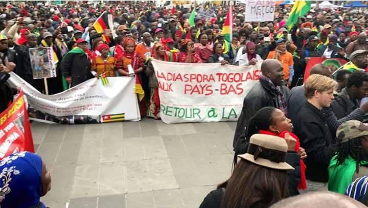 Ghana, Benin, Pays-Bas, Allemagne : La diaspora togolaise sort de sa torpeur et met la pression
