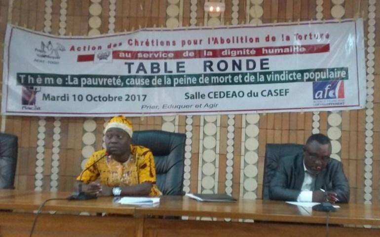 L'Action des Chrétiens pour l'Abolition de la Torture contre la vindicte populaire au Togo
