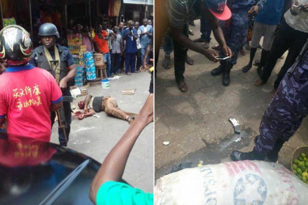 Togo : Fusillade / braquage à côté de Ecobank du Grand marché à Lomé.