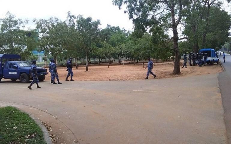 Togo/Une manifestation spontanée devant la CENI dispersée par les forces de l'ordre