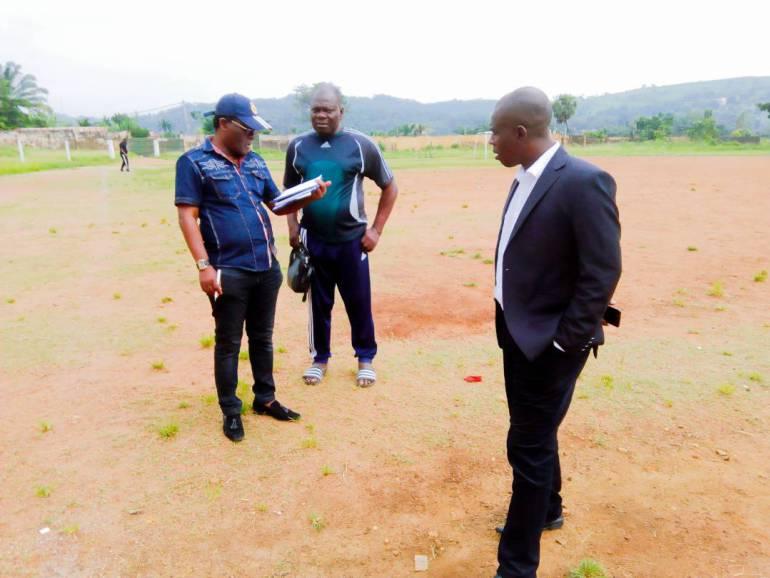 Togo/Football: la commission d'homologation des stades en visite de terrain à Atakpamé