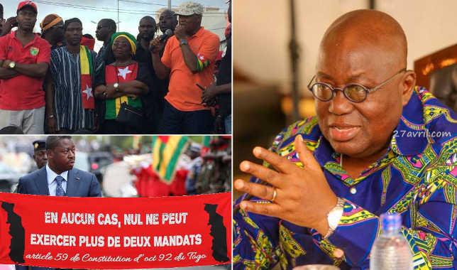 Crise politique au Togo : Nana Akufo-Addo en médiateur, Alpha Condé disqualifié.