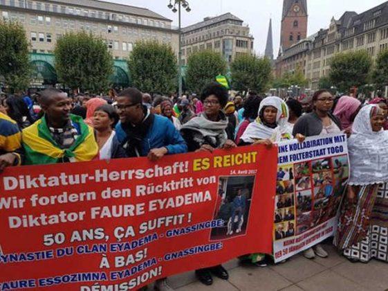 Togo, Retour à la C92 :  La mobilisation mondiale des Togolais continue. Samedi 30 septembre, c'était à Düsseldorf, Hambourg et Munich en Allemagne.