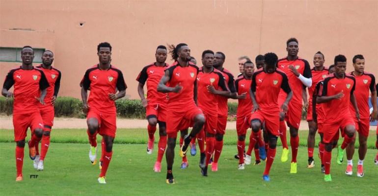 Les joueurs convoqués pour le match Togo-Île Maurice