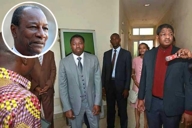 Togo : Pourquoi Faure Gnassingbé et son beau-frère Marcel de Souza cherchent à impliquer Alpha Condé dans la crise togolaise…