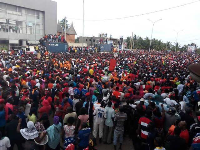 Togo, Démonstration de force à Lomé et à l'intérieur du pays : Le pouvoir de Faure fortement secoué par la rue !