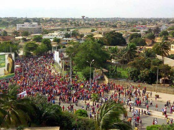 Togo, Grande marche de la colère le 5 octobre : Près d'un million de Togolais et Togolaises dans les rues de Lomé