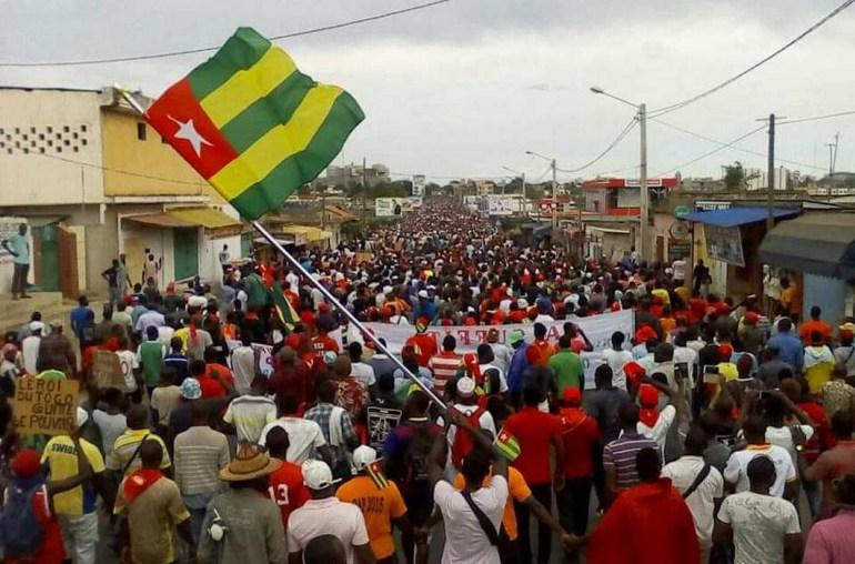 La Convention Patriotique des Forces de la Gauche (CPFG) soutient la lutte du peuple togolais