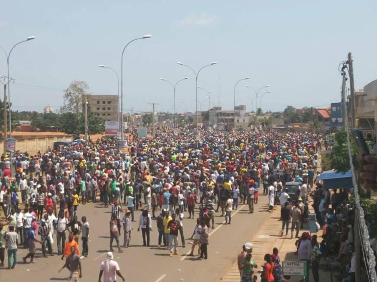 togo manifestations du 5 octobre ces associations qui veulent porter plainte contre les