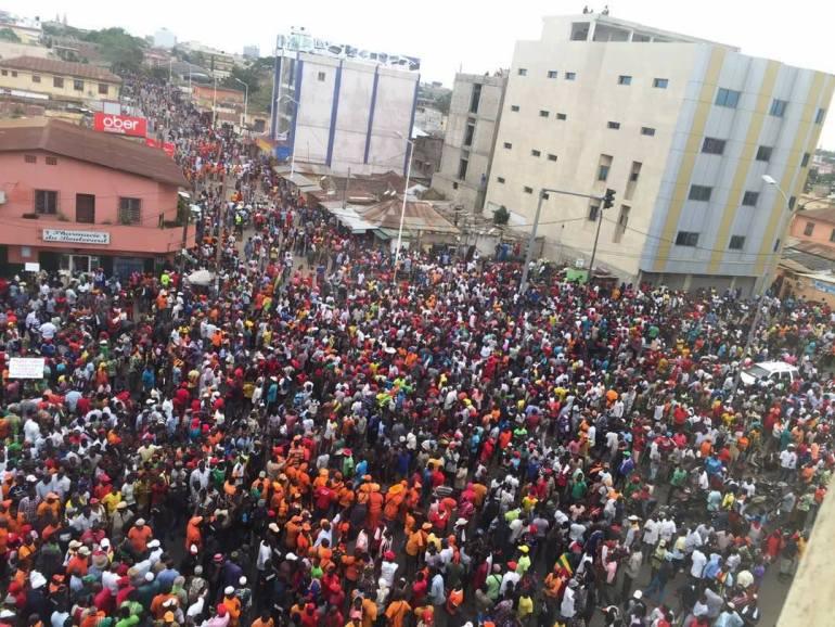 Togo: l'Opposition dans les rues les 18, 19, 30 et 31 octobre pour des «Marches de résistance»