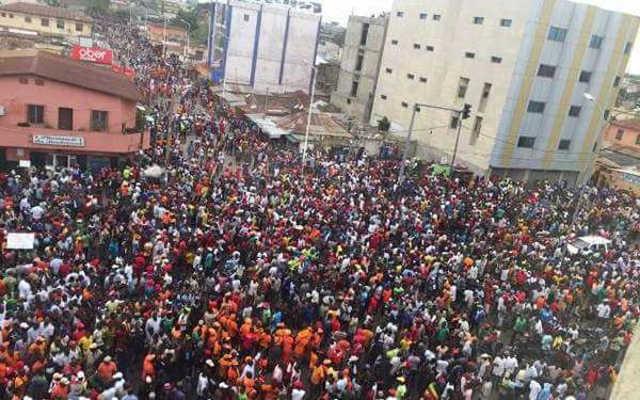 Togo : Les Grandes Marches de la Résistance des 18 et 19 octobre sont maintenues !
