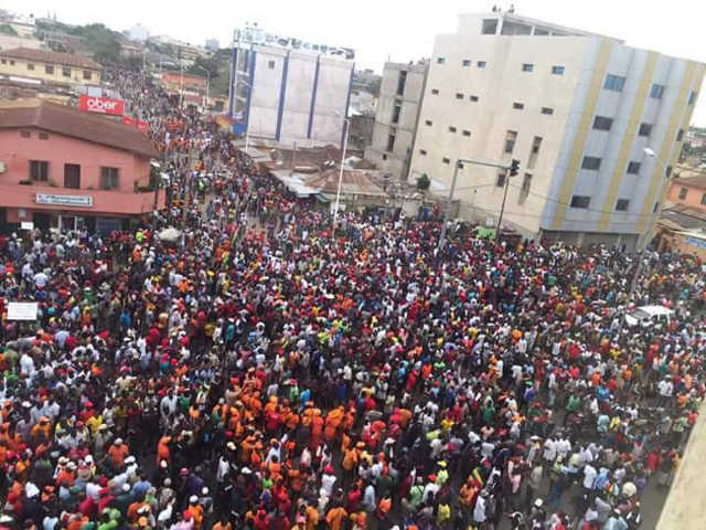 Manifestation populaire patriotique : Tout le Togo debout pour exiger l'Alternance politique.