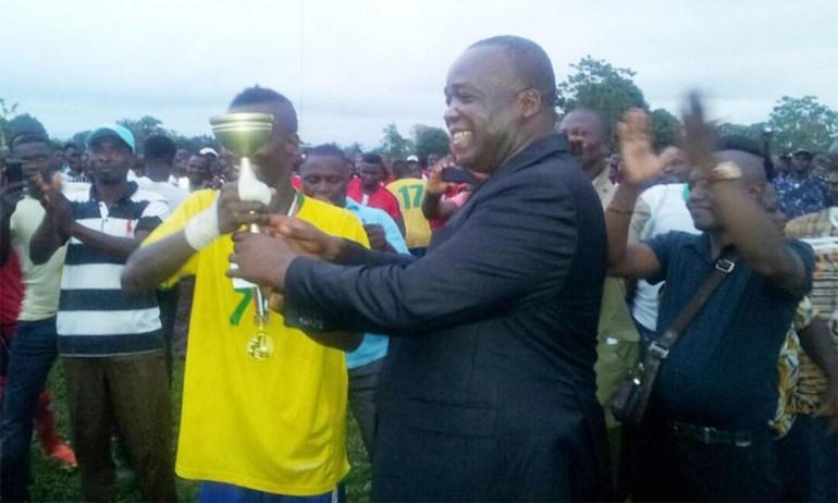 Ouragan FC de Tovégan remporte le Tournoi « Abbé Dzitri » dans l'Avé