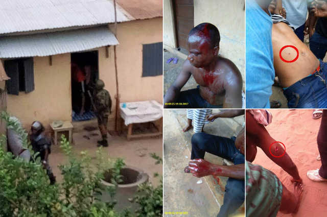 Togo, Répression : Au moins 3 morts et 44 blessés par balle à Lomé, ce 19 octobre 2017