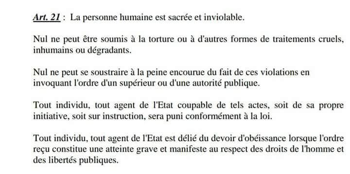 Le petit message de Farida Naboureima aux Forces Armées Togolaises