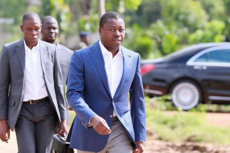 Faure Gnassingbé au contact des populations des Plateaux