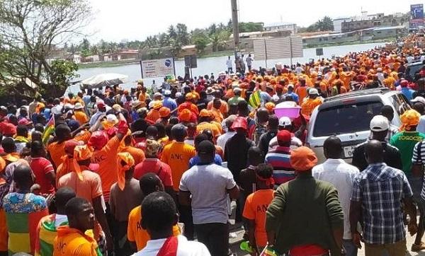 Forte mobilisation à Lomé contre le président Faure Gnassingbé                                                                             10 novembre 2017