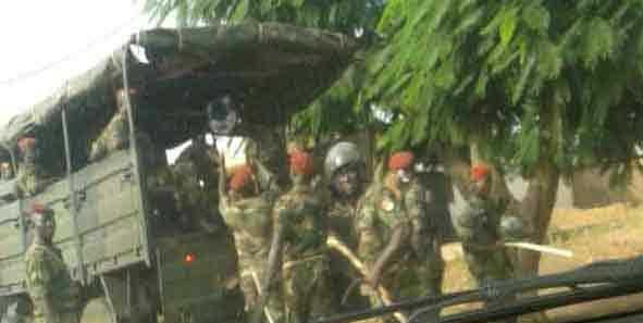Des mercenaires engagés par Faure Gnassingbé et ses sbires pour terroriser le peuple Togolais                                                                             14 novembre 2017
