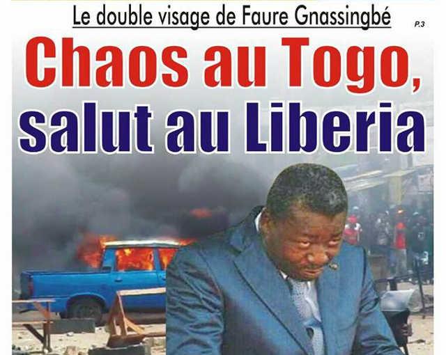 Le double visage de Faure Gnassingbé : Chaos au Togo, salut au Liberia