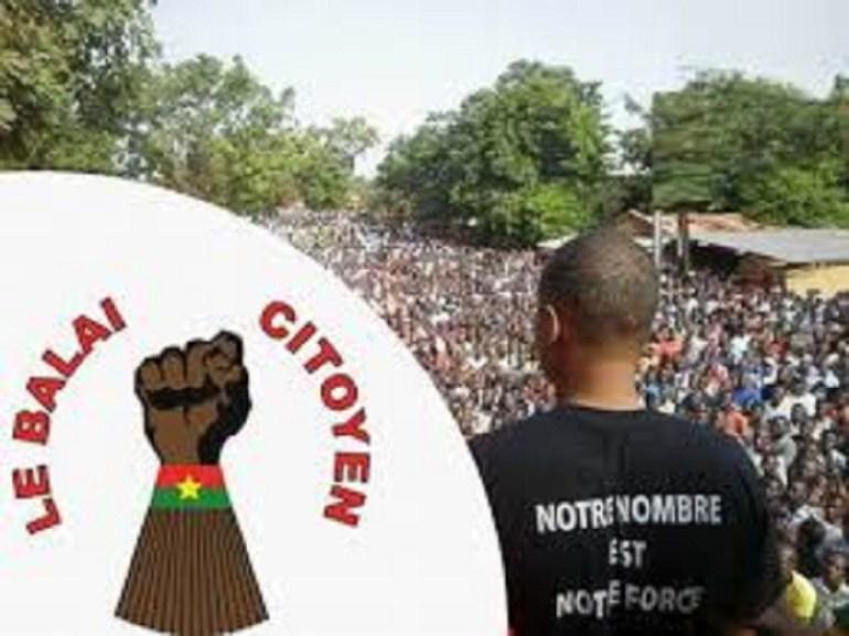 «Balai Citoyen»dénonce une atteinte aux libertés publiques de la Diaspora Togolaise au Burkina