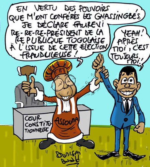 Togo, Un Faux Referendum cache le Vrai Referendum de 1992 : Une nouvelle ruse de Faure Gnassingbé !