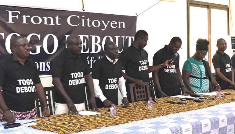 Le Mouvement Citoyen « TOGO DEBOUT » s'engage pour la défense des intérêts du Peuple