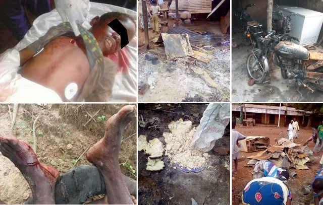 Togo : Sauvagerie militaire effroyable dans le nord. Mango pleure ses morts.