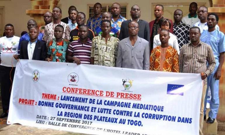 Togo / Des patrons de presse et acteurs de la société civile outillés sur la bonne gouvernance