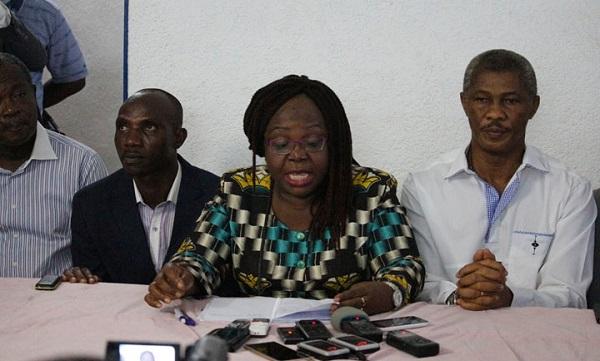 La coalition face à la presse pour faire le point de sa tournée 31 octobre 2017