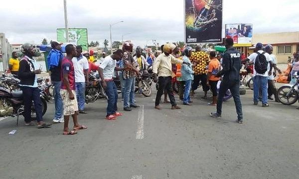 Marche de la colère : Les jeunes de Bè-Gakpoto s'échauffent 5 octobre 2017
