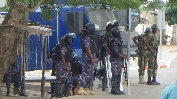 Les quartiers de Lomé sous haute surveillance ce matin 18 octobre 2017