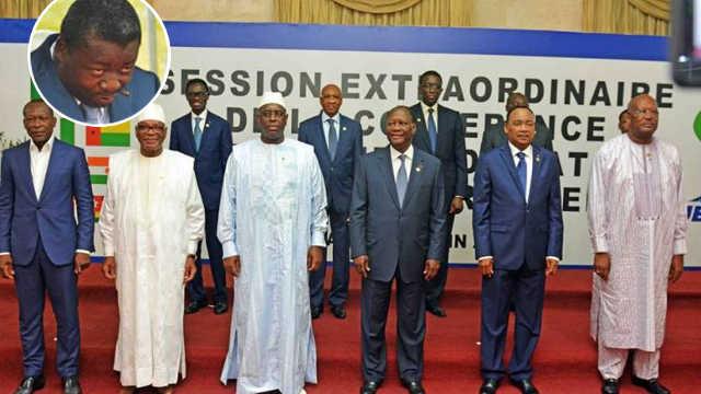 Crise au Togo, Pressions internationales: Faure Gnassingbé « convoqué » à Niamey par ses pairs