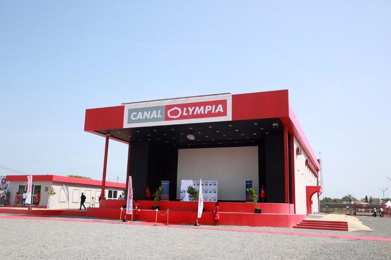 La salle de cinéma Canal Olympia ouvre ses portes au public Togolais