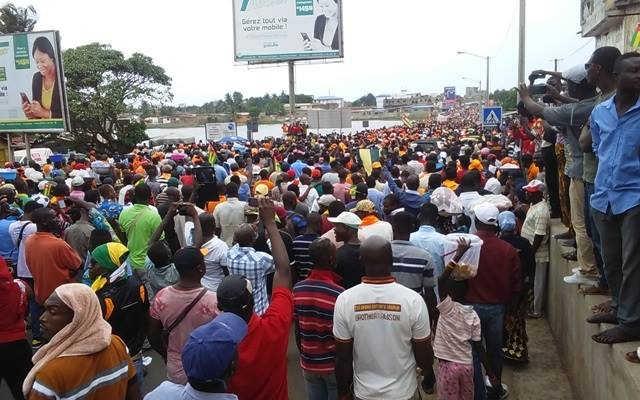 Togo, Retour à la C92 : Grandes Marches « d'ultime avertissement » et « de la colère » les 4 et 5 octobre dans tous le pays.