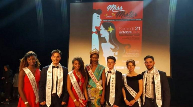 Élection Miss et Mister Cusset 2018: la Miss Togo Adomayakpo Dédévi Cornelia y était