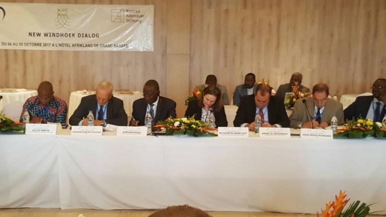 La situation politique togolaise exposée à la conférence des partis africains du centre-droit et des partis populaires européens
