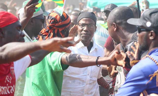 Togo, Atchadam : L'Espoir du peuple. Le Cauchemar du pouvoir Faure/RPT/UNIR.